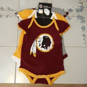 Washington Redskins bodysuits one pieces